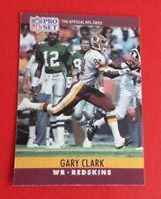 1990 Pro Set Football Gary Clark Card #321***Washington Redskins***