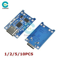 1/2/5/10PCS USB Type-C 5V 1A 18650 TP4056 Lithium Battery Charger Charging Board