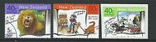 NEW ZEALAND 1999 HEALTH CHILDREN'S BOOKS SET OF 3 FINE USED