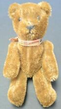 """Adorable Antique 7 1/2"""" Brown Mohair Teddy Bear"""