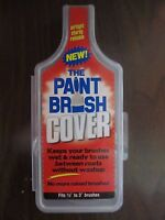 The Paint Brush Cover #PBC001   Keep brushes wet for up to 30 days   NEW