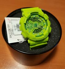 New CASIO G-Shock GA-110B-3 Lime Green Hyper Color Limited Edition Mens Analog