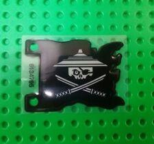 *NEW* Lego Black Pirate Flag Ninjago Plastic Pirates Ship Battles x 1 piece