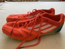 Men's Adidas Techstar Running Spikes Size Uk9
