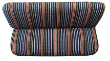 Blue Baja Striped Saddle Blanket Bench Seat Cover Row Full Size Ford F150 Trucks