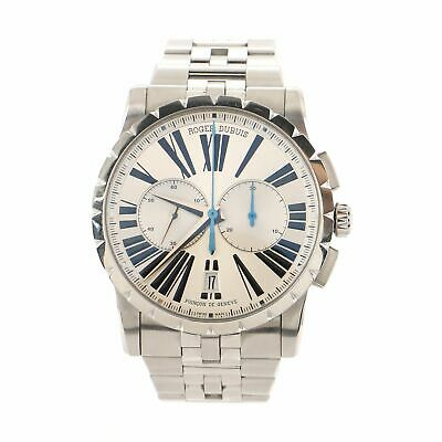 Roger Dubuis Excalibur Chronograph Automatic Watch Stainless Steel 42