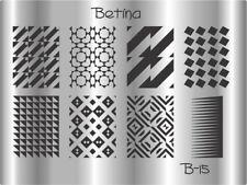 Plaque stamping BETINA B15