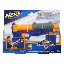 Nerf N-Strike New Sharpfire Delta Blaster with 4 Darts