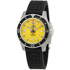 Breitling Superocean II Automatic Yellow Dial Men's Watch A17367021I1S2