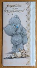 "'Congratulations On Your Engagement' Me to You Card - Tatty Bear - 8.25""x4"""