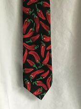 Fratelli Red Chilli Peppers Black Tie