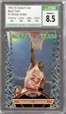 1992/93 Stadium Club Beam Team Michael Jordan #1 CSG 8.5