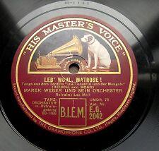 1271/ TANGO-Marek Weber-Leb´ wohl, Matrose-Warum hast du so-LEO MOLL-Schellak