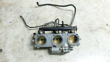 15 Triumph Tiger 800 XCX abs throttle body bodies and gas fuel injectors