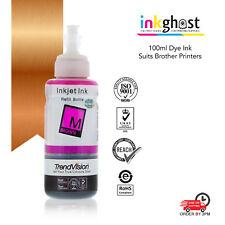 Magenta Compatible Inkghost Ink for Brother LC77 LC75 LC73 LC40 CISS LC77M CISS