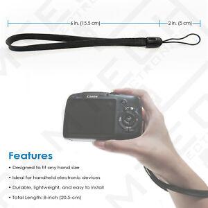 Universal Hand/Wrist Strap for Canon PowerShot D20 D30 Digital Camera - WS65
