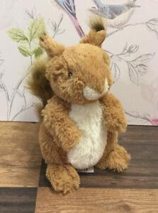 John Lewis Sid The Squirrel Soft Plush Toy
