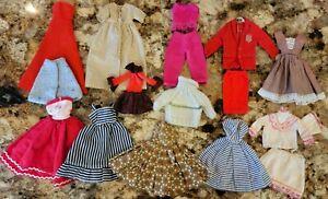 VINTAGE BARBIE TAMMY LITTLE CHAPS WENDY BABETTE   STACEY CLONE CLOTHES LOT