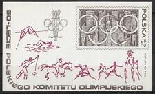 POLAND 1979 **MNH SC#B136 s/s Polish Olympic Committee