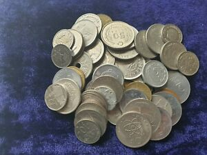 lot of world mixed coins see photos 50 coins each lot