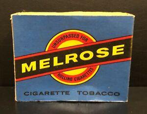 MELROSE CIGARETTE TOBACCO (EMPTY) 2oz. Box - Imperial Tobacco Co., NZ
