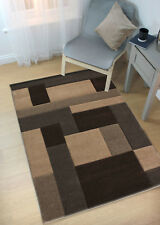 COSMOS BLOCKS GEOMETRIC SOFT HAND CARVED RUG HOME MAT SMALL TO LARGE CARPET