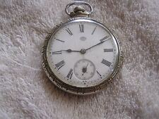 Antique South Bend Pocket Watch 19 Jewels Double Roller 219