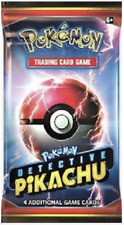 Pokemon - POKEMON 1X DETECTIVE PIKACHU BOOSTER PACK