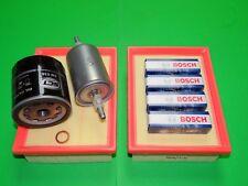 Ölfilter Luftfilter Benzinfilter Zündkerzen VW Lupo 1.4 16V 55 /& 74kW Bj 98-06