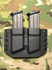 Black Kydex SIG SP2022 Dual Magazine Carrier