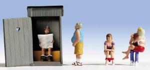 Noch 36560 Toilet Stories N Gauge Ready Painted Figures Set