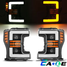 2017-2019 Ford F250/F350/F450 Super Duty Sequential Signal Projector Headlights