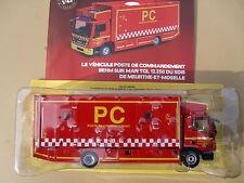 N° 55 MAN TGL 12.250 Camion Pompier Poste de Commandement BEHM SDIS 54 1/43 Neuf