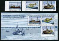 AAT Australische Antarktis 2020 Wyatt Earp Expedition Schiffe Wasserflugzeug MNH