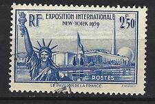 France 1940 exposition de New-York Yvert n° 458 oblitéré 1er choix (1)