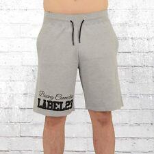 Label 23 Herren Jogging Short Boxcon hellgrau kurze Jogginghose Sweat-Shorts