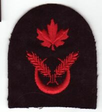 Canadian Armed Forces Navy COOK  patch badge