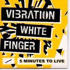 (N390) Vibration White Finger, 5 Minutes to Live- DJ CD