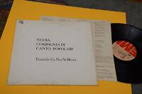 NUOVA COMPAGNIA DI CANTO POPOLARE LP TARANTELLA...1°ST ORIG ITALY PROG 1975 EX+