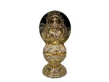 Metal Buddhism Single Statue; DAINICHI NYORAI (Vairocana) from JAPAN