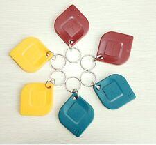 50 pcs EM 4100 Keychains RFID 125Khz Proximity ID Card Token Tags Key Fobs