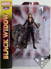 """BLACK WIDOW Marvel Select 7"""" inch Action Figure with Base 2014"""