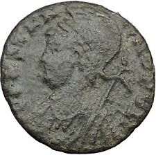 Constantine I The Great founds Constantinople Ancient Roman Coin Nike  i32502