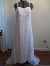 Wedding Gown  White  Size 16