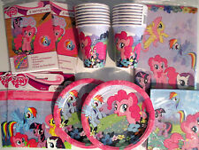 MY LITTLE PONY  Birthday Party Supply Pack DELUXE Kit w/ Invitations & Loot Bags