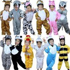 Popular Costume Dress Cosplay Onsie7 Children Unisex Hooded Pajamas Animal Pajam
