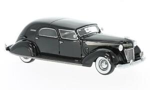 NEO SCALE MODELS NEO46766 CHRYSLER IMPERIAL C-15 LE BARON CITY CAR 1937 BLACK 1: