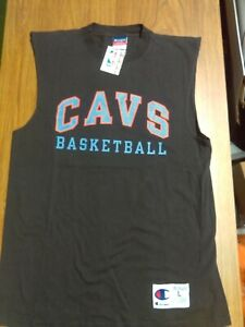 VINTAGE 90's CLEVELAND CAVALIERS NBA Basketball Jersey Shirt NEW w/tag Large