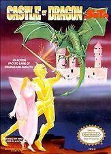 CASTLE OF DRAGON CLASSIC NINTENDO GAME ORIGINAL SYSTEM NES HQ
