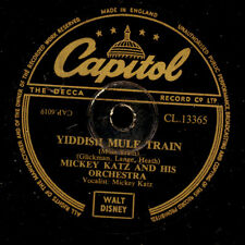 Mickey Katz & his Orch. yiddish Mule Train/There's a Hole in the... s8425